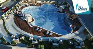 خدمات قريه بلوز blues resort services